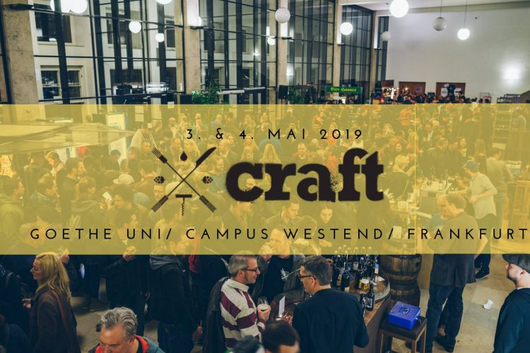 CRAFT Frankfurt Mai 2019