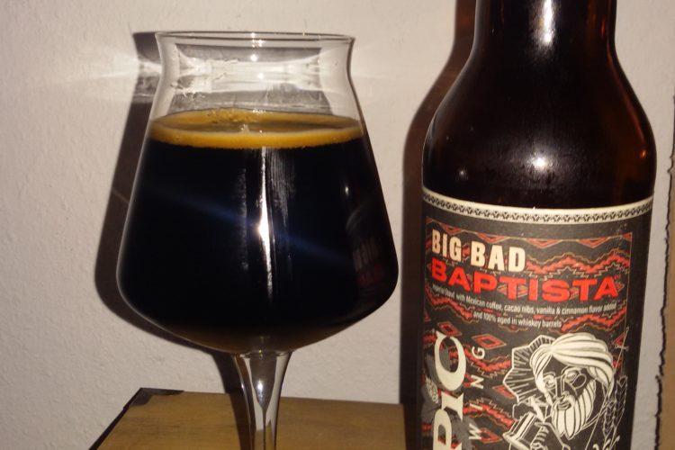 Epic Brewing - Big Bad Baptista 2018
