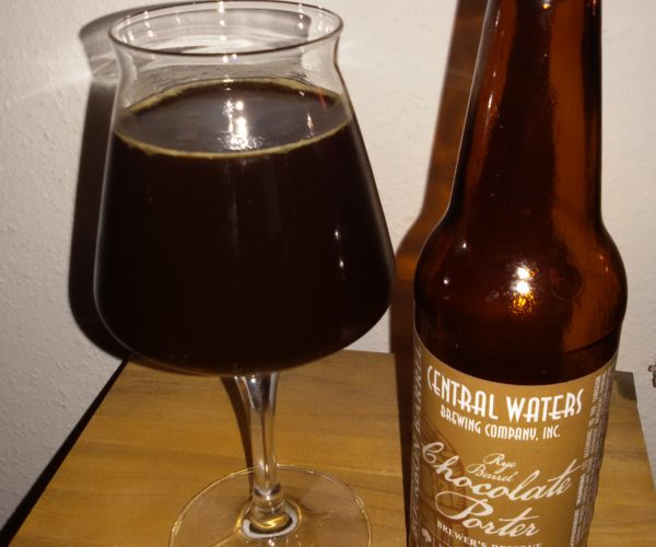 Central Waters – Brewer's Reserve Rye Barrel Chocolate Porter 2019