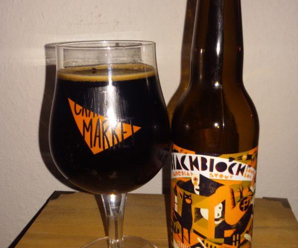Cerveses La Pirata – Black Block BA Bourbon Imperial Stout (2018)