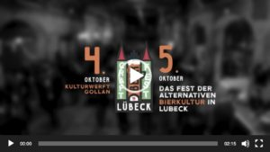 Craft Beer Fest Luebeck 2019 Video