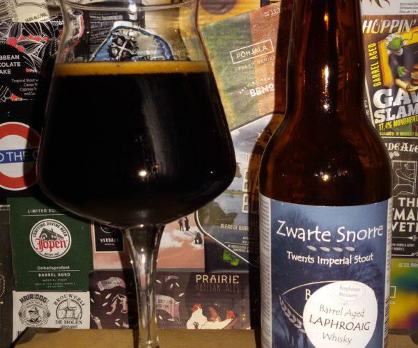 Berghoeve Brouwerij – Zwarte Snorre Barrel Aged Laphroaig Whisky