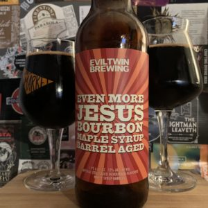 Evil Twin - Even More Jesus Bourbon Maple Syrup Barrel Aged