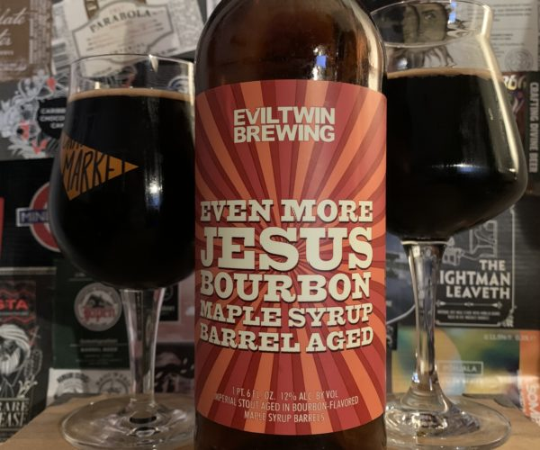 Evil Twin - Even More Jesus Bourbon Maple Syrup Barrel Aged