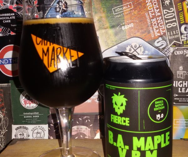 Fierce Beer – B.A. Maple V.B.M.