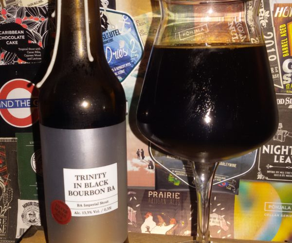 Pühaste - Trinity In Black Bourbon BA