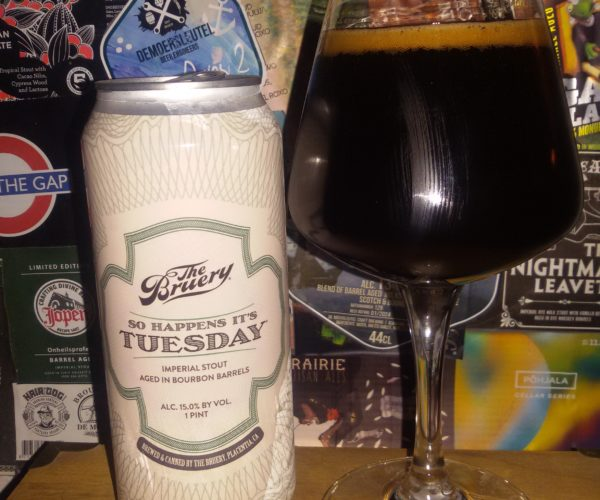 The Bruery - So Happens It's Tuesday (2019)