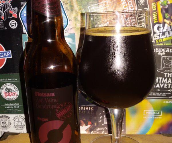 Nogne O - Flotsam (BA Red Wine Quadrupel)