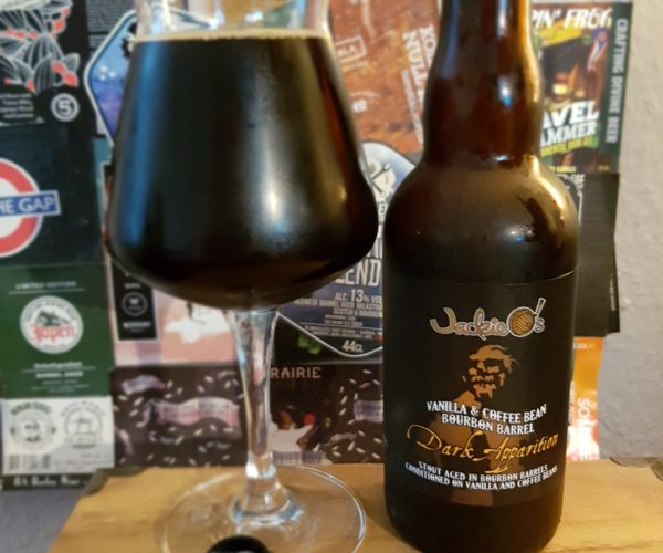 Jackie O's Pub & Brewery – Dark Apparition (Vanilla & Coffee Bean Bourbon Barrel 2020)