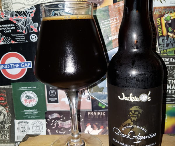 Jackie O's Pub & Brewery - Bourbon Barrel Dark Apparition 2020
