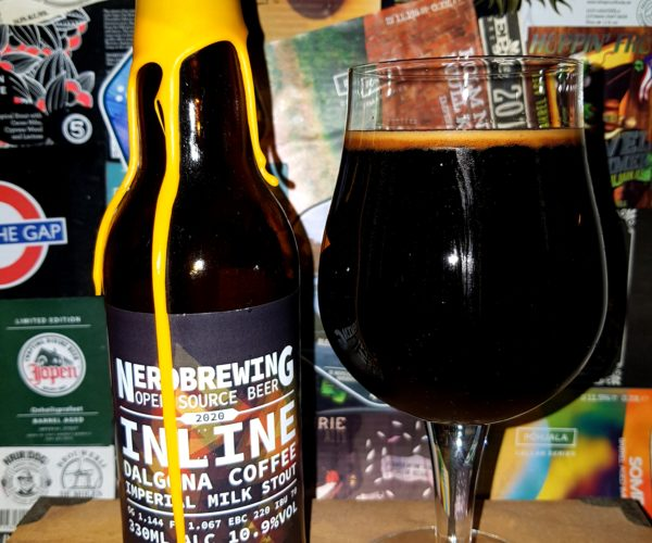 Nerdbrewing - Inline Dalgona Coffee Imperial Milk Stout 2020