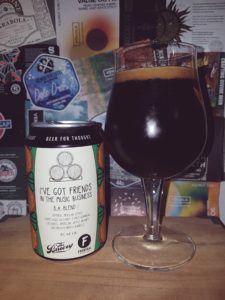 Frontaal x The Bruery - I've Got Friends In the Music Business B.A. Blend I 2020
