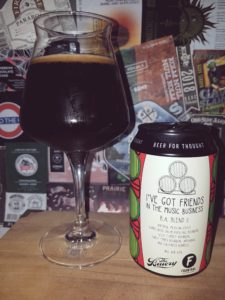 Frontaal x The Bruery - I've Got Friends In the Music Business B.A. Blend II 2020
