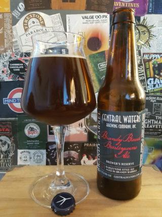 Central Waters - Brewer's Reserve Brandy Barrel Barleywine Ale